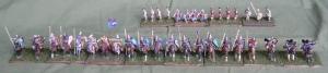 The Komnenan Byzantine army arrayed